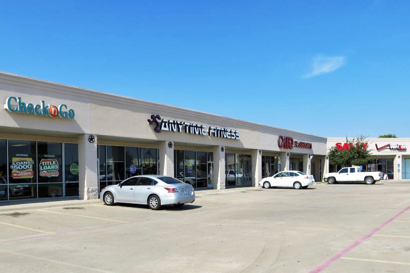 Property: Terrell Corners Shopping Center